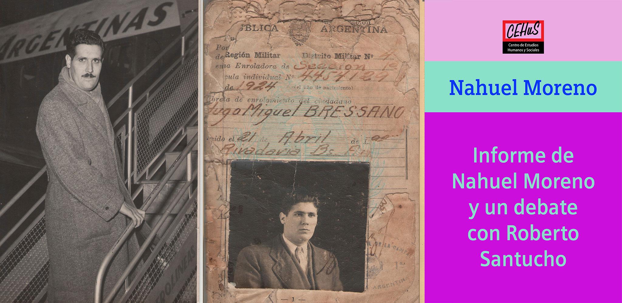 INFORME NACIONAL EN EL CONGRESO DEL PRT Y UN DEBATE CON SANTUCHO (1965)