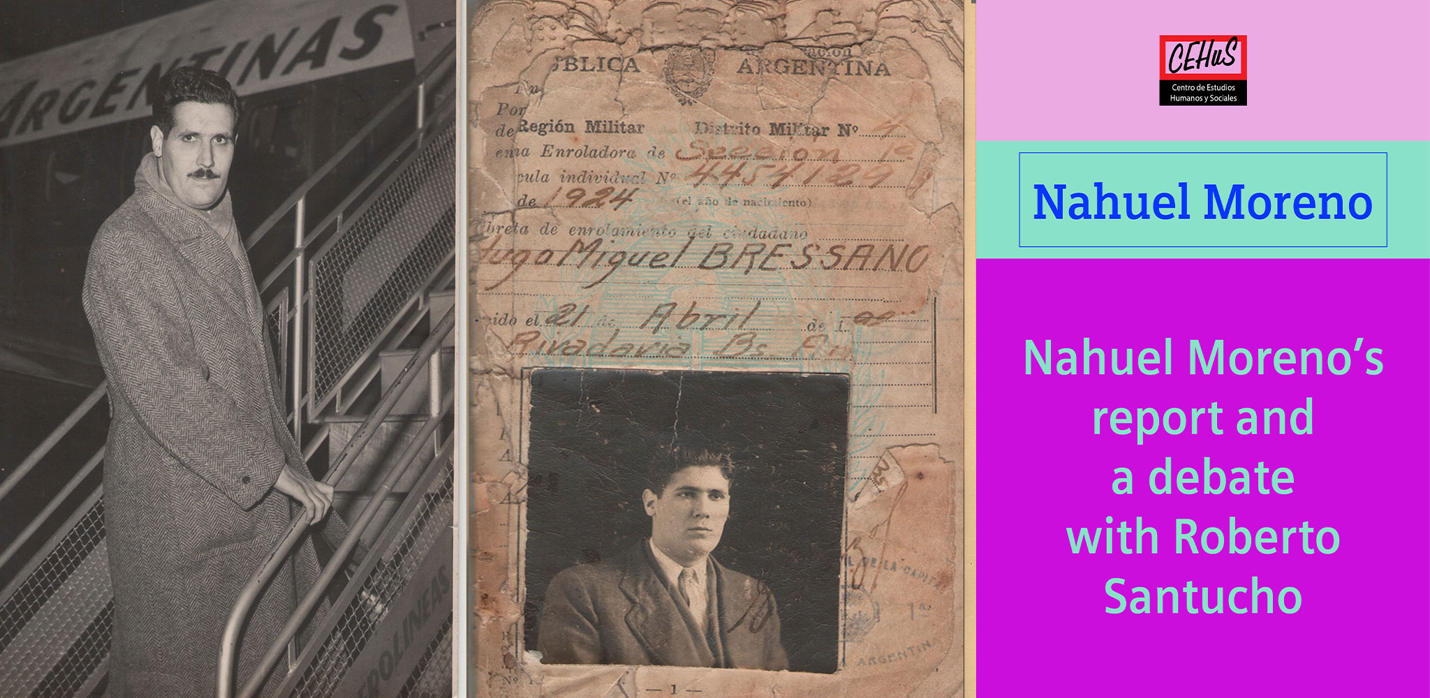 NAHUEL MORENO'S REPORT AND A DEBATE WITH ROBERTO SANTUCHO (1965)