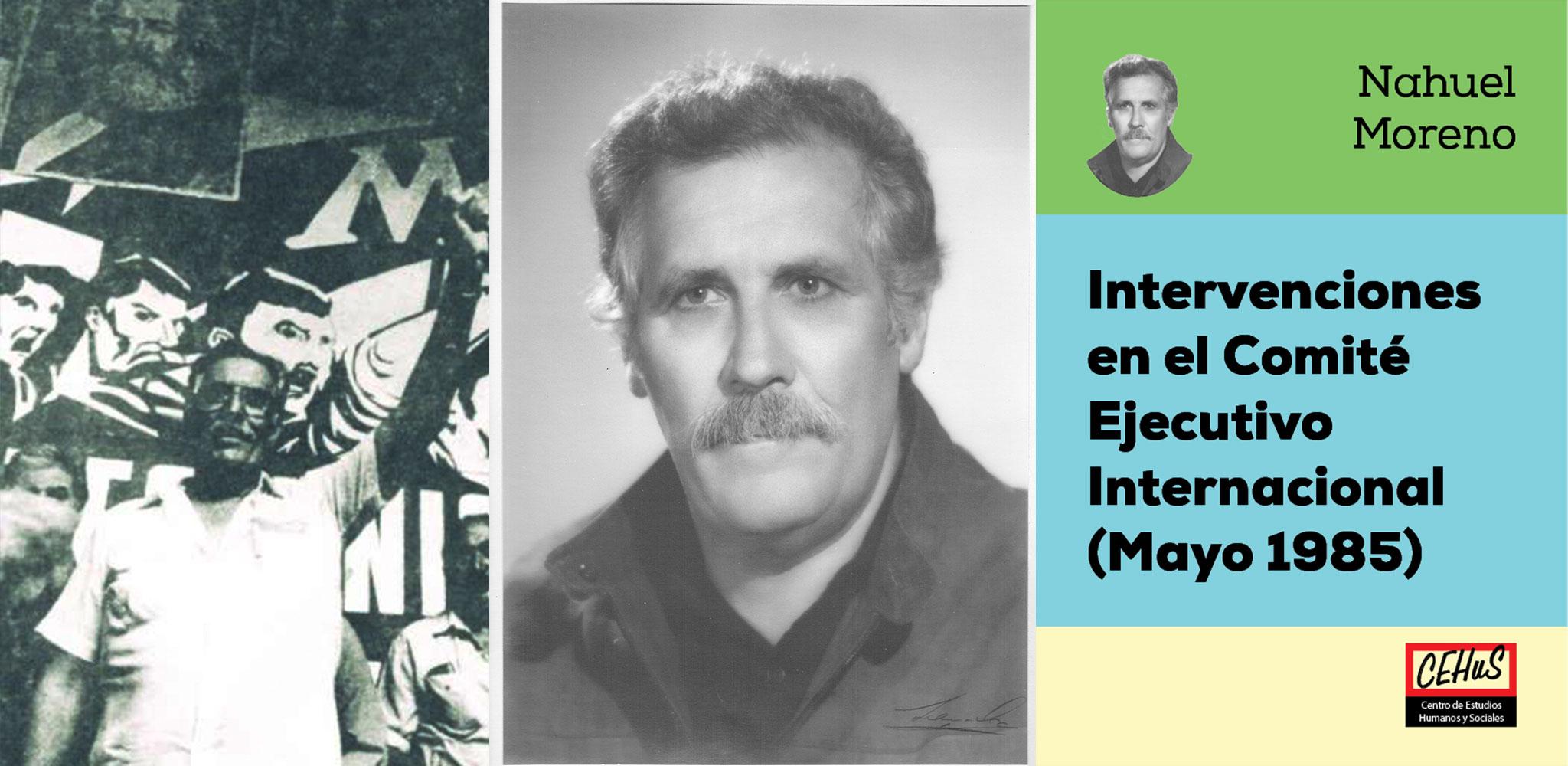INTERVENCIONES EN EL CEI DE LA LIT-CI (1985)