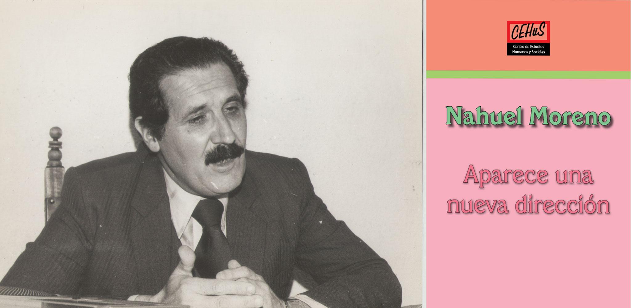 APARECE UNA NUEVA DIRECCIÓN (1981)