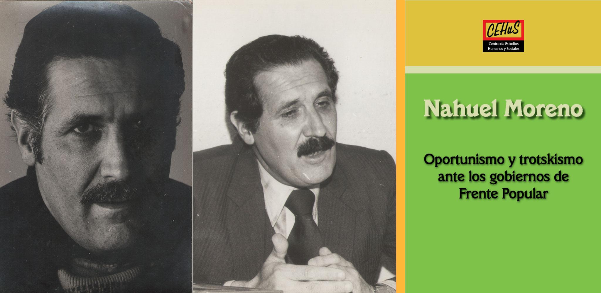 OPORTUNISMO Y TROTSKISMO ANTE LOS GOBIERNOS DE FRENTE POPULAR (1982)